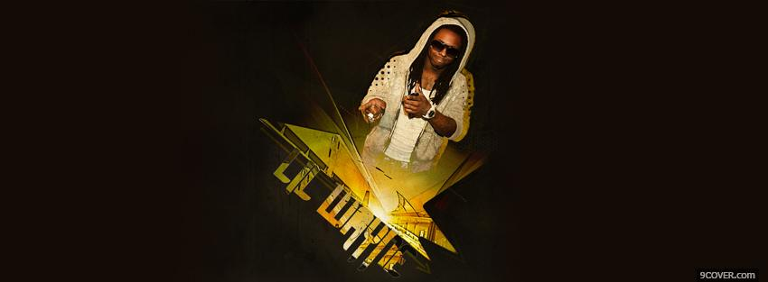 Photo yellow lil wayne music Facebook Cover for Free