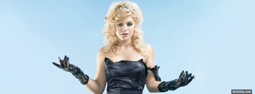 Photo princess kelly clarkson music Facebook Cover for Free