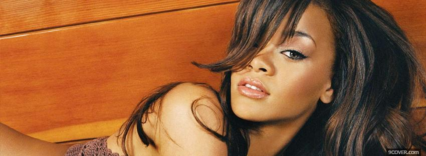 Photo sultry rihanna music Facebook Cover for Free