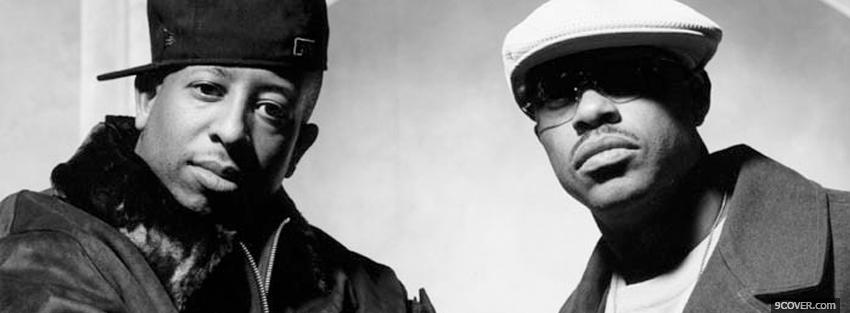 Photo gang starr mc guru Facebook Cover for Free