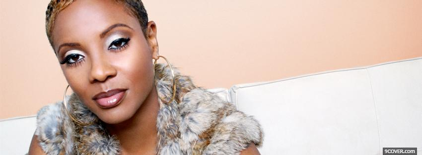 Photo mc lyte music Facebook Cover for Free