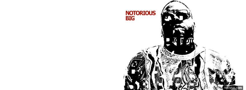 Photo rapper the notorious big Facebook Cover for Free