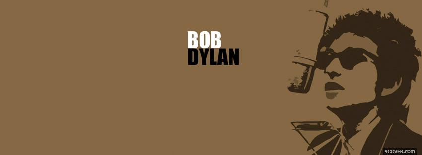 Photo brown bob dylan music Facebook Cover for Free