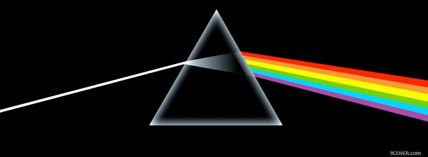 Photo pink floyd dark side of the moon Facebook Cover for Free