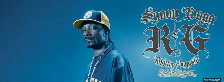 Photo snoop dogg rythm and gangsta Facebook Cover for Free