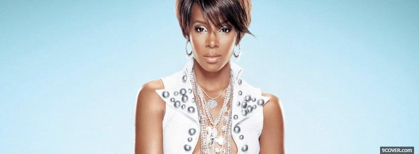 Photo kelly rowland with short hair Facebook Cover for Free
