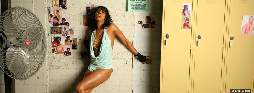 Photo music energy with keri hilson Facebook Cover for Free