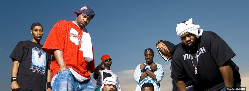 Photo the wu tang clan Facebook Cover for Free