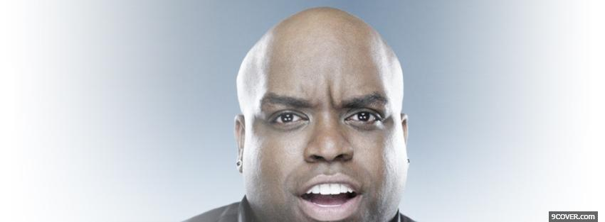 Photo cee lo green suprised music Facebook Cover for Free
