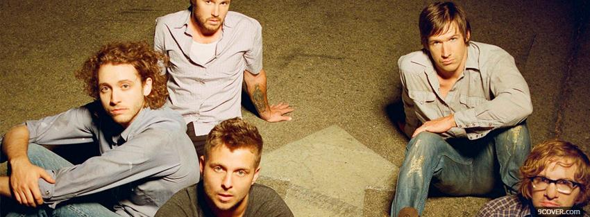 Photo one republic members music Facebook Cover for Free