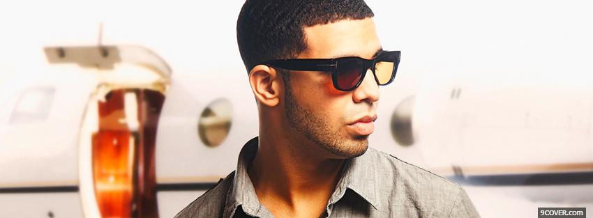 Photo rapper drake music Facebook Cover for Free