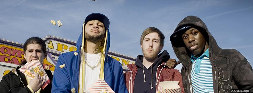 Photo gym class heroes group Facebook Cover for Free