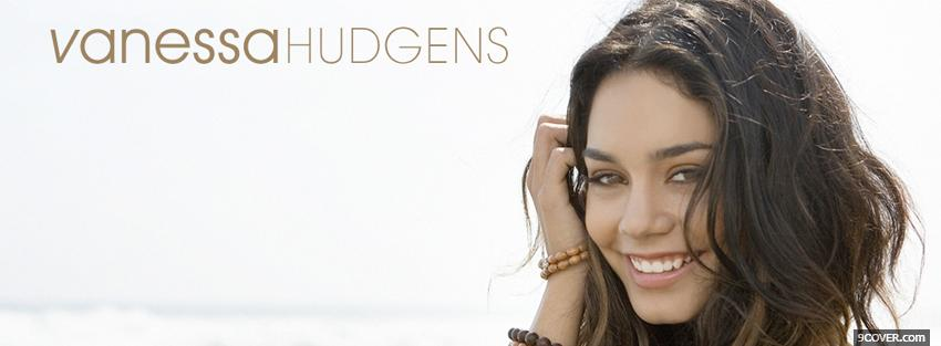 Photo music vanessa hudgens smiling Facebook Cover for Free