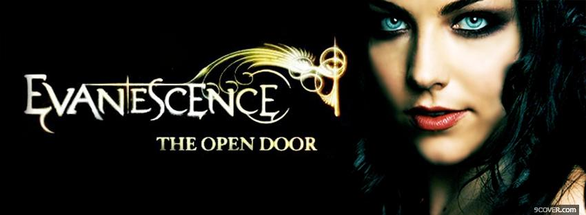 Photo evanescence the open door Facebook Cover for Free