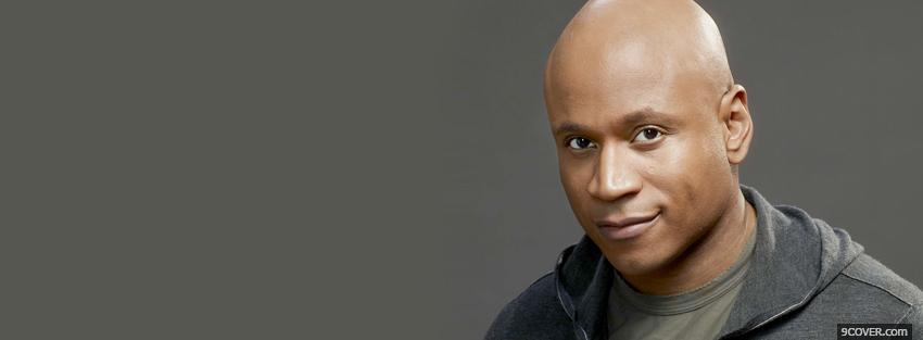 Photo ll cool j smiling a little Facebook Cover for Free