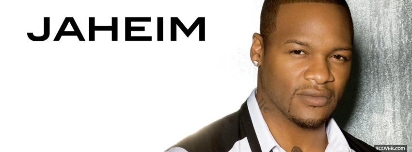Photo music jaheim serious Facebook Cover for Free