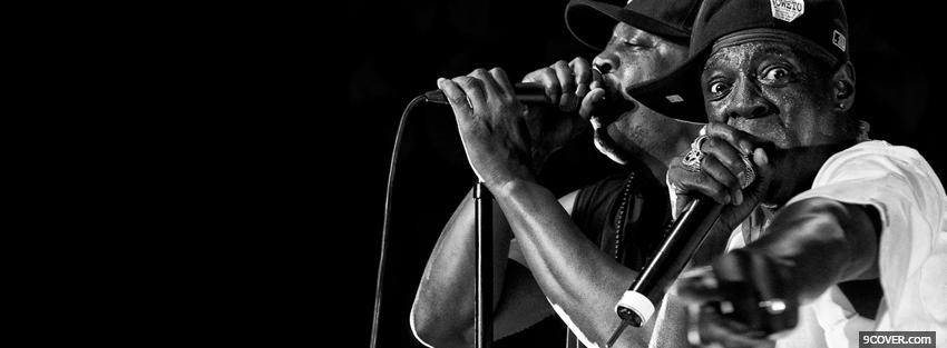 Photo public enemy music Facebook Cover for Free