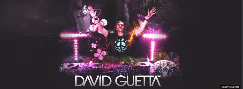 Photo david guetta music Facebook Cover for Free