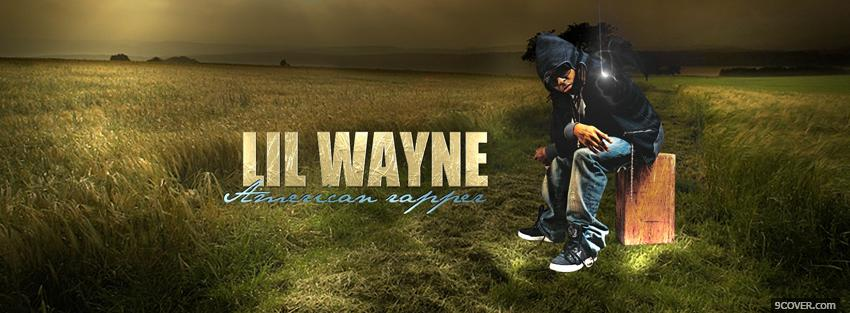 Photo lil wayne american rapper music Facebook Cover for Free