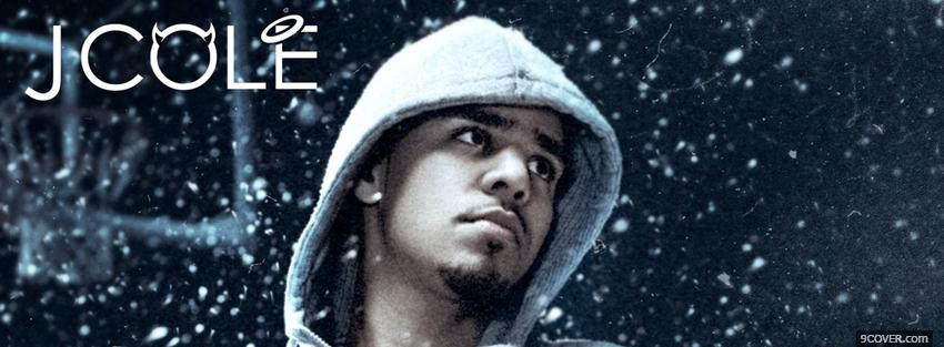 Photo music j cole Facebook Cover for Free