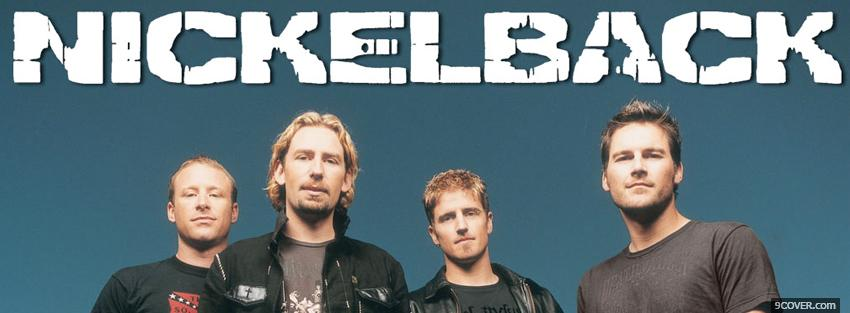 Photo music nickelback Facebook Cover for Free