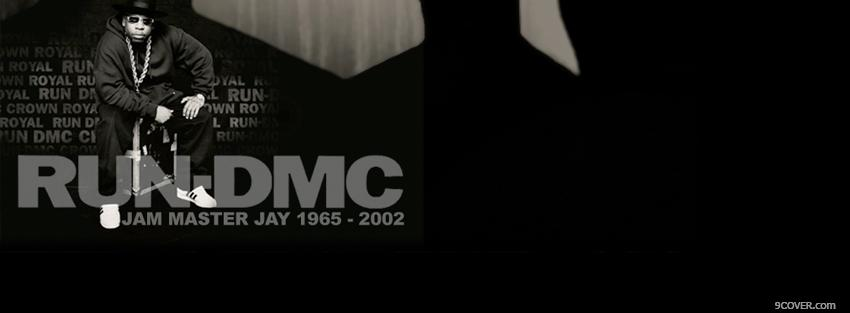 Photo run dmc jam master jay Facebook Cover for Free
