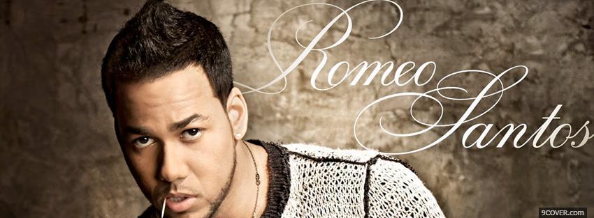 Music Romeo Santos Photo Facebook Cover