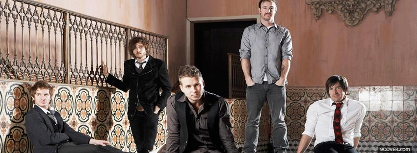 Photo band one republic music Facebook Cover for Free