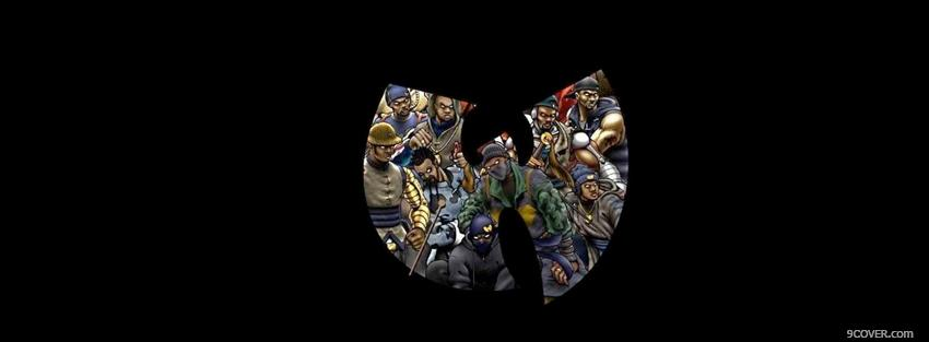 Photo animated wu tang clan Facebook Cover for Free
