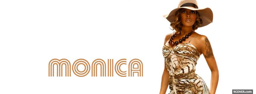 Photo monica exotic music Facebook Cover for Free