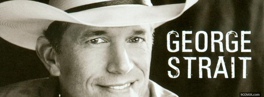 Photo music george strait Facebook Cover for Free