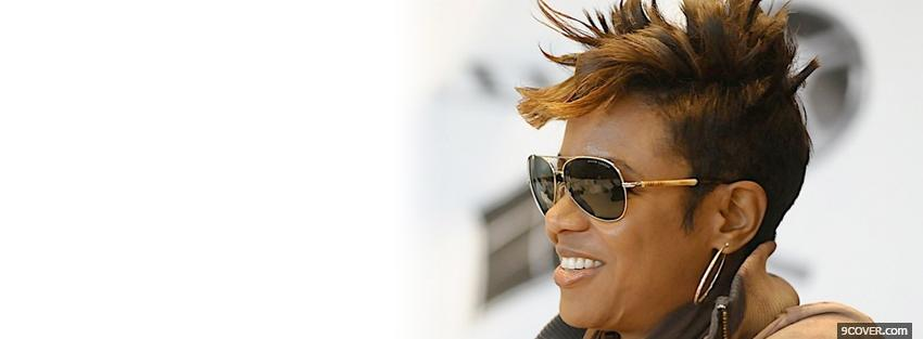 Photo mc lyte short hair Facebook Cover for Free