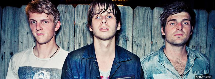 Photo music foster the people Facebook Cover for Free