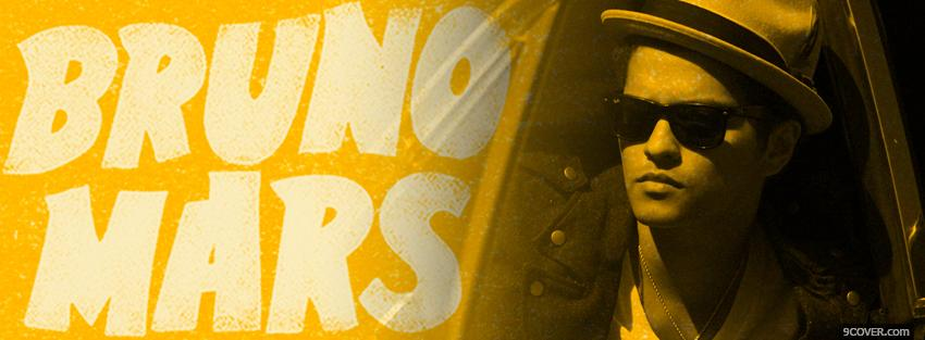 Photo yellow bruno mars Facebook Cover for Free