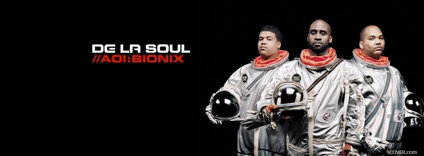 Photo de la soul astronauts music Facebook Cover for Free