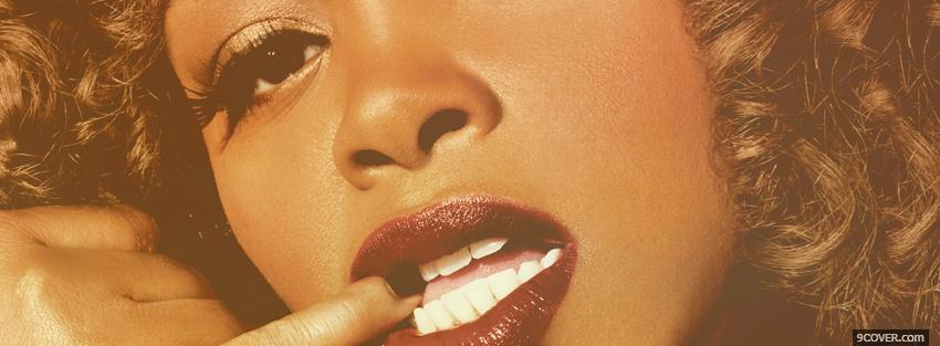Photo jill scott biting finger music Facebook Cover for Free