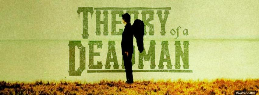 Photo theory of a deadman music Facebook Cover for Free