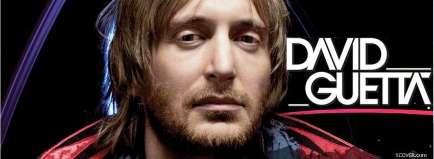 Photo music david guetta Facebook Cover for Free
