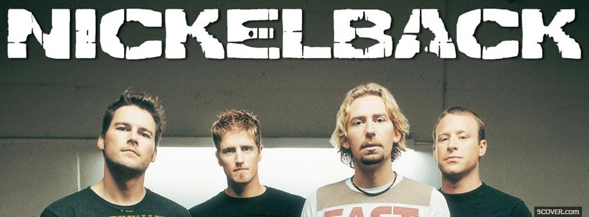 Photo nickelback band music Facebook Cover for Free