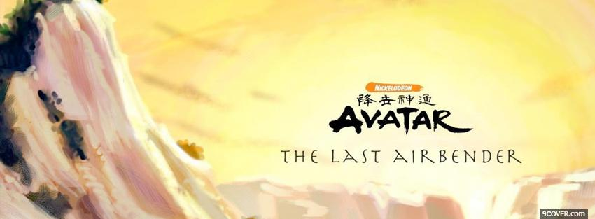 Photo avatar the last airbender Facebook Cover for Free