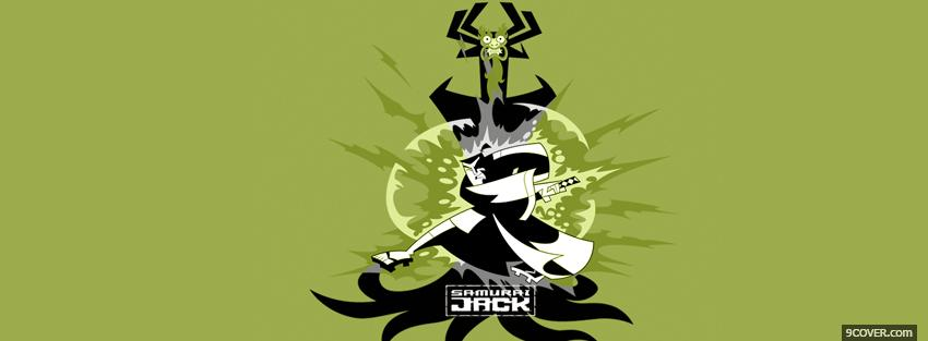 Photo cartoons samurai jack Facebook Cover for Free