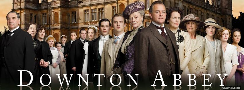 Photo tv shows downtown abbey cast Facebook Cover for Free