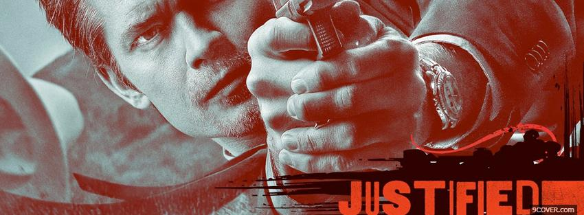 Photo tv shows justified Facebook Cover for Free