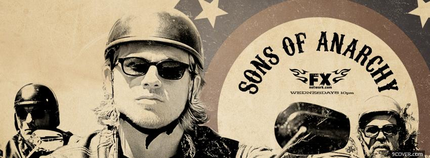 Photo tv shows sons of anarchy soldiers Facebook Cover for Free