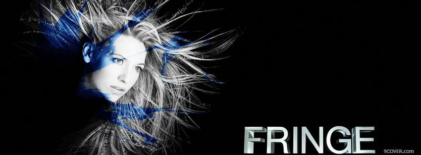 Photo tv shows woman in fringe Facebook Cover for Free