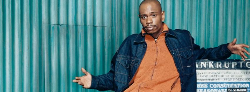 Photo tv shows dave chappelle Facebook Cover for Free