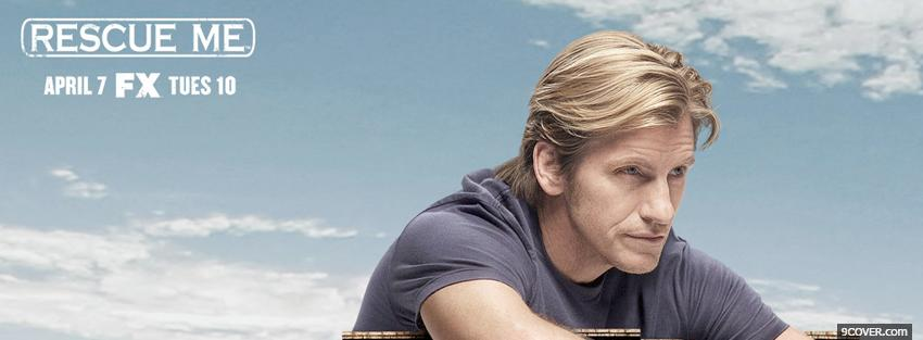 Photo tv shows rescue me blue sky Facebook Cover for Free