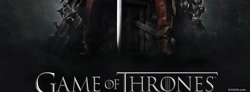 Photo game of thrones Facebook Cover for Free