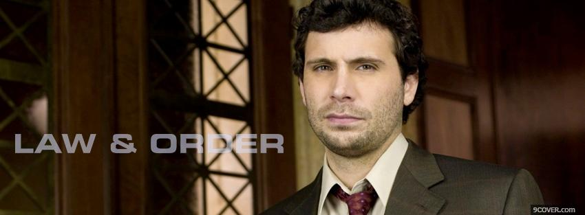 Photo law and order jeremy sisto Facebook Cover for Free