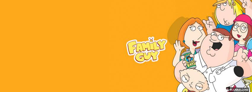 Photo tv shows family guy characters Facebook Cover for Free